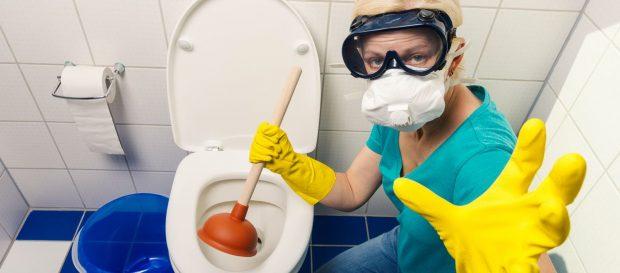 Toilettes-deboucher